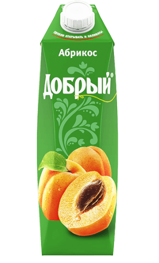 Сок «Добрый» абрикосовый